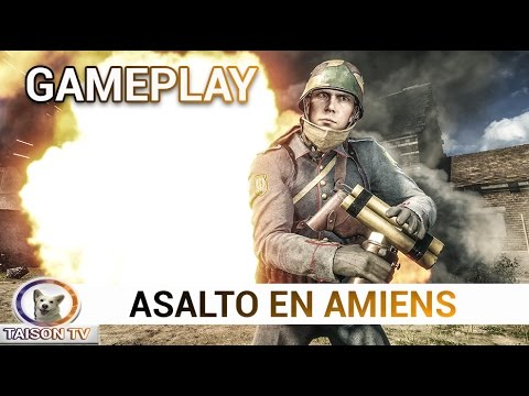 Battlefield 1 Asalto en Amiens Gameplay