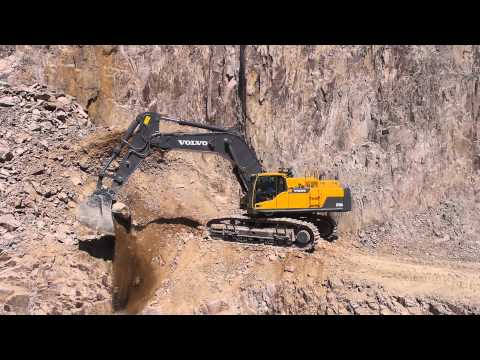 Volvo EC750D excavator: tackle any task