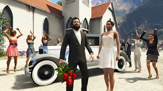 GTA 5 Real Life Mod #46 - GETTING MARRIED!! (GTA 5 Mods)