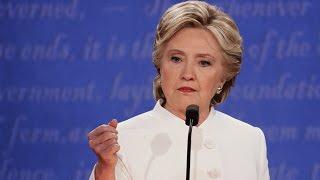 WATCH: Hillary Clinton Calls Trump A 'Puppet' Of Vladimir Putin