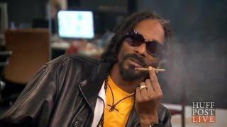 WATCH: Snoop Smokes Weed & Freestyles On Air | HPL
