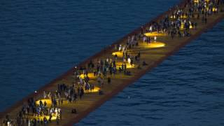 The Floating Piers #inLombardia - Time Lapse (141 sec)
