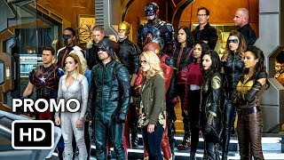 DCTV Crisis on Earth-X Crossover Promo #3 The Flash, Arrow, Supergirl, DC