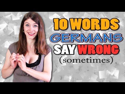10 German Words That GERMANS Say