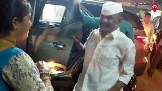 Daddy out on furlough; gets overwhelming welcome at Dagdi Chawl | City | Mumbai Live