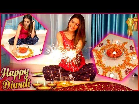 Xxx Mp4 Hiba Nawab Aka Sheena Teaches How To Decorate House Make Rangoli For Diwali Diwali 2017 3gp Sex