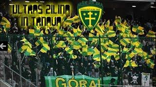 Ultras Žilina in Trnava - 24 April 2016 (HD)