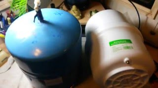 (Reverse Osmosis:) RO Tank Replacement & Testing. Cheap $20 Pressure Tank