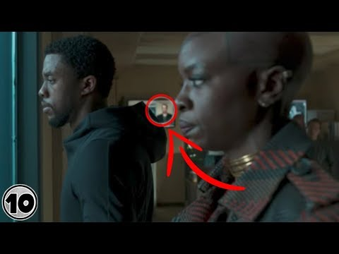 Xxx Mp4 Top 10 Easter Eggs You Missed In Black Panther 3gp Sex