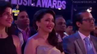 Diva Madhuri Dixit Gets a Musical Tribute At   7th Royal Stag Mirchi Music Awards 2015