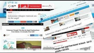 HEBOH !! Berita ANAK BIDADARI Di Muat Berbagai Media Luar Negeri