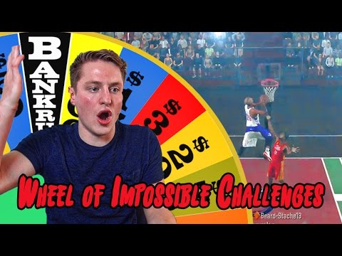 SPIN THE WHEEL OF IMPOSSIBLE CHALLENGES! NEW NBA 2K17 GAMEPLAY CHALLENGE!