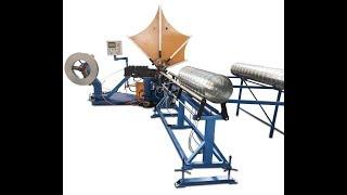 China Prima spiral duct machine price,HVAC air duct tube forming machine