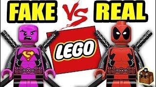 Fake LEGO vs Real LEGO Custom Minifigures