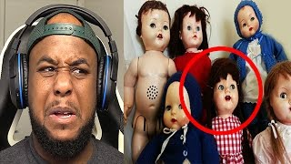 5 HAUNTED DOLLS CAUGHT ON CAMERA! (TRY NOT TO GET SCARED CHALLENGE)
