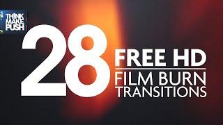 28 FREE HD FILM BURN TRANSITIONS