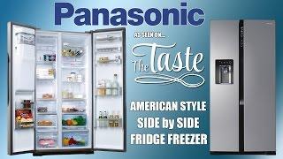 Panasonic NR B53V2 American Style Fridge Freezer As Seen on The Taste