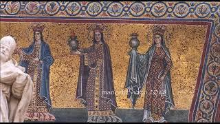The façade of the Basilica of Santa Maria in Trastevere just restored (manortiz)