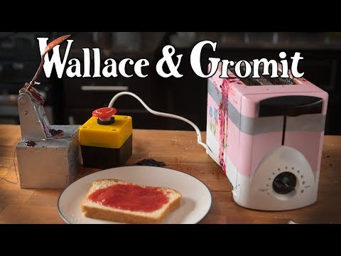 Wallace and Gromit Jam Launcher ft. Binging with Babish