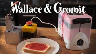 Wallace and Gromit: Jam Launcher (ft. Binging with Babish)