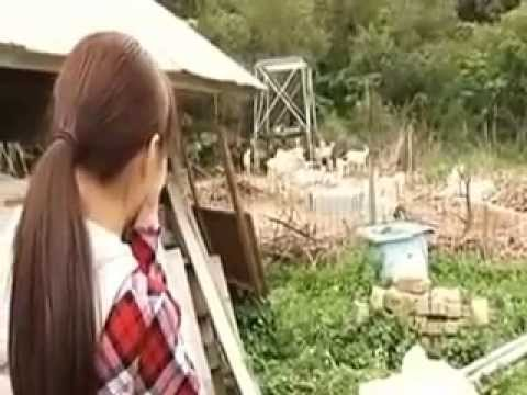 Japanes sexy girl want to drink fresh goat milk