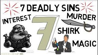 7 DEADLY MAJOR SINS YOU MUST AVOID! - Shabir Ally Animated