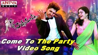 Come To The Party Video Song || S/o Satyamurthy Video Songs || Allu Arjun, Samantha