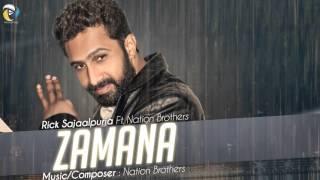 Zamana - Rick Sajaalpuria   Latest Punjabi Songs 2016   Aery Productions