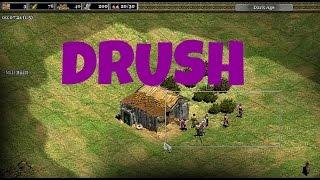 AoE2: Aztekas vs Hunos Drush(Rush con milicias) en 6 minutos!