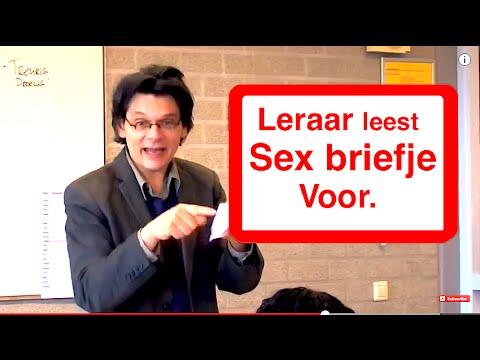 LERAAR LEEST SEX BRIEFJE VOOR!