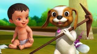 चलो चलें खेती करें | Hindi Rhymes for Children | Infobells