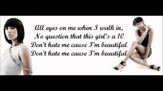 Keri Hilson - Pretty Girl Rock Lyrics Video