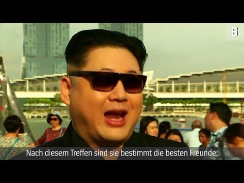 Xxx Mp4 Treffen Von Trump Und Kim Der Doppelgänger Des Diktators 3gp Sex