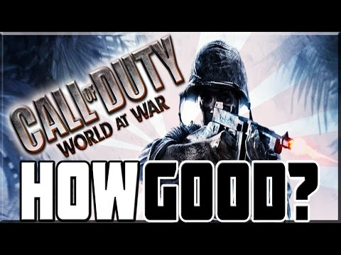 HOW GOOD WAS CALL OF DUTY WORLD AT WAR
