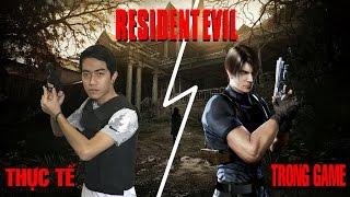 Resident Evil in Real Life | Trò chơi thực tế kinh dị hài