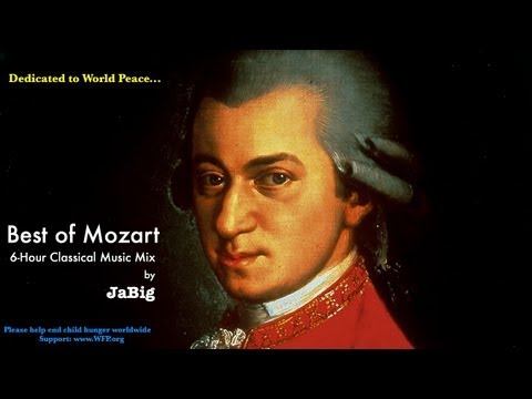 6 Hour Mozart Piano Classical Music Studying Playlist Mix by JaBig Great Beautiful Long Pieces