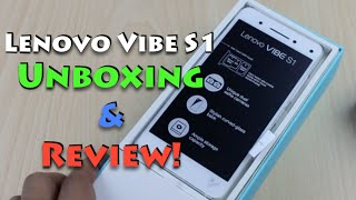 Lenovo Vibe S1 India Unboxing and Quick Review
