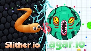 Rap de Slither.io VS Rap de Agar.io/ Epicas Batallas de Rap de vídeojuegos #1