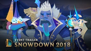 The Day Before Snowdown | Snowdown 2018 Event Trailer - League of Legends