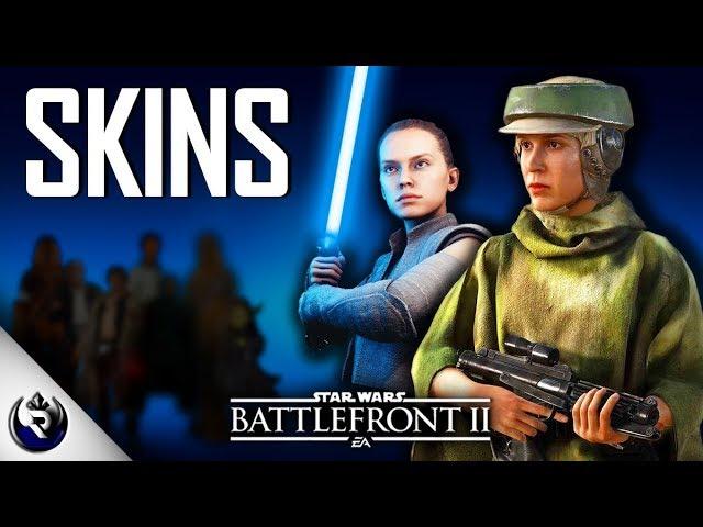 April Skins REVEALED! (Kylo Ren, Hooded Yoda + More) - Star Wars Battlefront 2