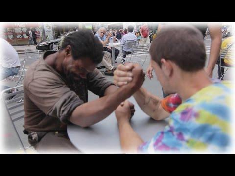 Xxx Mp4 Making Homeless Guys Arm Wrestle For Money 3gp Sex