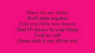 Rihanna Umbrella Lyrics