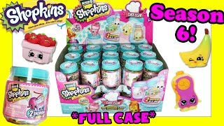 Shopkins Season 6 Opening - FULL CASE - Shopkins Season 6 Full Case Opening Full Case Box Set Video