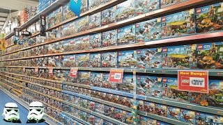 LEGO Shopping In Smyths Toy Superstore.
