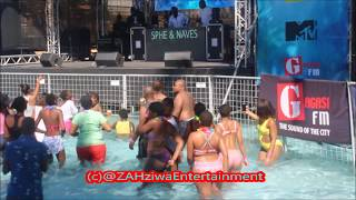 Isithembiso Actor Farieda Metsileng Twerks at Dubane Spring Break Ushaka Marine World