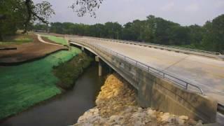 CR104 Bridge Replacement Time Lapse