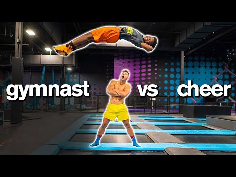 Insane Acro Gymnastics Trampoline Dares