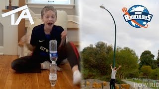 Water Bottle Flip Trick Shots ULTIMATE EDITION | That