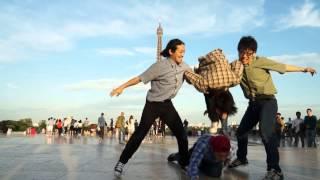 【RAB】エッフェル塔前でラブライブ!OP を踊ってみた高画質