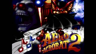 Aero the Acro-Bat 2 Title Screen (SNES, Genesis)
